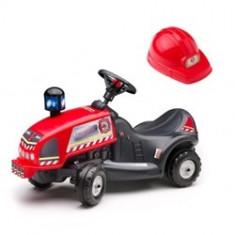 Masinuta Pompieri Ride On Cu Casca Falk