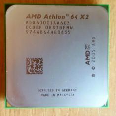 Procesor PC AMD, AMD, AMD Athlon 64, Numar nuclee: 2, 2.5-3.0 GHz, AM2 - Procesor Dual-Core AMD Athlon 64X2 6000+ 3.0 GHz soket AM2.