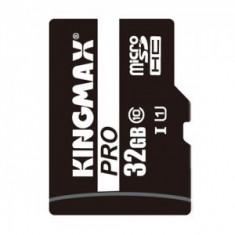 Kingmax, 32GB, KM32GMCSDUHSP1A, Micro Secure Digital Card - Card memorie Kingmax, Micro SD