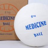 Minge medicinala din cauciuc 2 kg - umpluta cu lichid - Minge Fitness