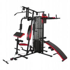 Aparat multifunctionale fitness - Aparat multifunctional 4 posturi de antrenament Actuell DM-4700