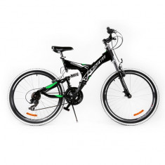 Mountain Bike - Bicicleta MTB Passati Touareg 26 negru fullsuspension