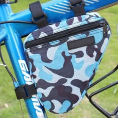 Portbagaj bicicleta geanta model army cadru bicicleta spatiu depozitare