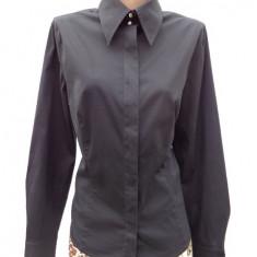 Camasa neagra Escada 100% originala - Camasa dama Escada, Marime: M, Culoare: Negru, Maneca lunga, Universala, Bumbac