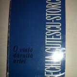 Cecilia Cutescu Storck  (dedicatie/semnatura)O VIATA DARUITA ARTEI