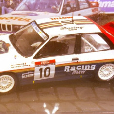 Macheta BMW M3 E30, Raliu Corsica 1987, 1:43 - Macheta auto