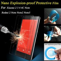 NOU Folie Film Protector Xiaomi Mi3 Mi4/ Redmi Hongmi Note 2 Note 3 Cadou Paste - Folie de protectie