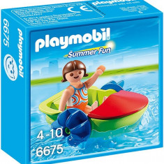 Copilul Cu Hidrobicicleta Playmobil