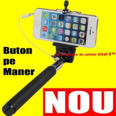 Selfie stick - SELFIE cu FIR Monopod NEGRU