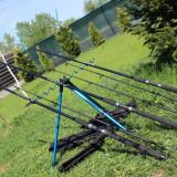 Set 3 Lansete Wind Blade Epoxy 2, 4 Metri Ideale Crap Actiune 60 -120 grame - Lanseta
