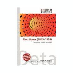 Alois Bauer (1845-1928) - Carte Literatura Engleza
