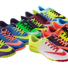 Ghete fotbal, Asfalt, Sala, Teren sintetic, Iarba - Ghete / adidasi fotbal NIKE MERCURIAL