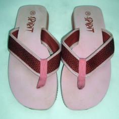 Papuci pentru plaja Young Spirit marimea 39 - Super Pret - Slapi dama, Culoare: Din imagine