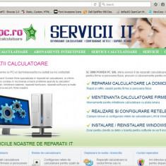 Vand site pentru afacere Reparatii Calculatoare - Service PC - Site de Vanzare