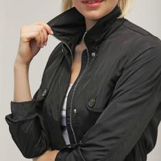 Geaca dama - Jacheta parka cu gluga detasabila - Vero Moda - 10153204 negru