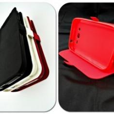 Husa FlipCover Stand Magnet E-Boda Storm X450 Rosu - Husa Telefon