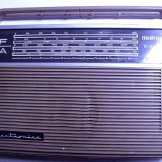 Aparat radio - Radio vechi Mamaia din anii 60 de colectie rar relativ functional electronica