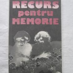 Roman - Elena Gronov Marinescu - Recurs Pentru memorie