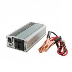 Jocuri PC - Whitenergy invertor DC/AC de la 12V DC la 230V AC 400W, USB