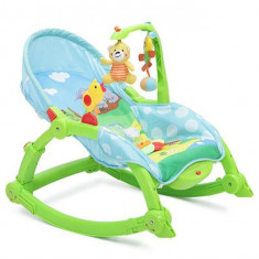 Balansoar Copii 2 In 1 Moni Rocker Verde - Leagan