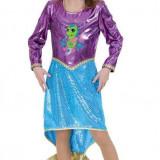 Costum copii - Costum Pentru Serbare Sirena Deluxe 128 Cm