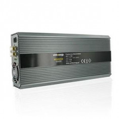 Jocuri PC - Whitenergy invertor DC/AC de la 12V DC la 230V AC 2000W, 2 AC receptacle