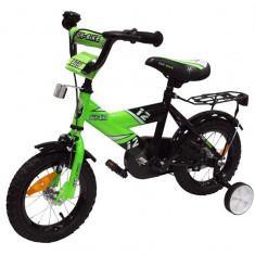 Bicicleta copii MyKids Fun Bike 888 Green 12