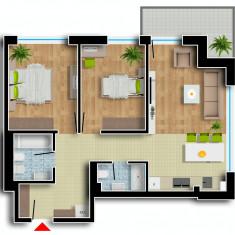 Apartament de vanzare, 3 camere, Etajul 1, An constructie: 2016, Suprafata: 100 - Apartament NOU, Cartier Prima Residence Oradea, 3 camere-MOSCOVA, 64285Eur