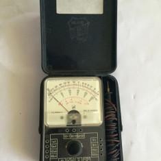 Multimetru analog / aparat masura marca ICE Tester Mod 60 - Multimetre