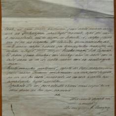Scrisoare olografa a lui Dimitrie Sturdza, scrisa olograf, datata 1857, Berlin - Autograf