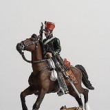 Calaret din plumb -  Trooper Austrian Hussar - 1814 scara 1:32