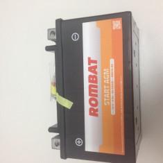 Baterie moto, scuter, atv Rombat 12V - 6Ah 60A, AGM Gel RBX7A-BS