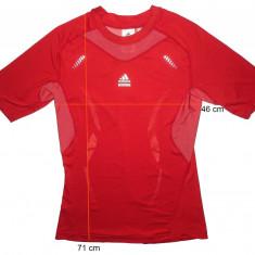 Tricou sport ADIDAS TechFit Clima Cool, deosebit, ca nou (L) cod-172356 - Tricou barbati Adidas, Maneca scurta