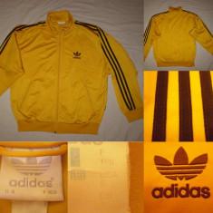 Bluza Adidas Originals (S) galben barbati casual sport retro vintage trening - Bluza barbati