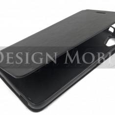 HUSA HTC DESIRE 626 FLIP TIP CARTE SUPER OFERTA - Husa Telefon HTC, Negru, Piele Ecologica, Cu clapeta, Toc