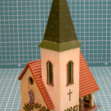 Biserica scara HO(5378) - Macheta Feroviara