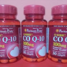 COENZIMA Q10, concentratie 100 mg, 30 caps, cel mai bun pret in Romania - Supliment nutritiv