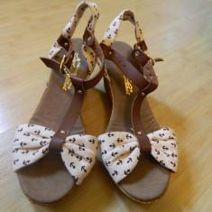 SANDALE GUCCI - MARIMI - 39 - - Sandale dama, Culoare: Din imagine