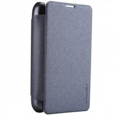 Husa Telefon - Husa Nokia Lumia 530 NilLkin Sparkle Neagra / Black