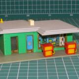 Benzinarie scara HO(5438) - Macheta Feroviara