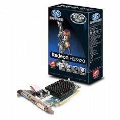 Placa Video Saphire PCI-E ATI RADEON HD5450 2 GB DDR3 64 BIT RETAIL - Placa video PC Sapphire