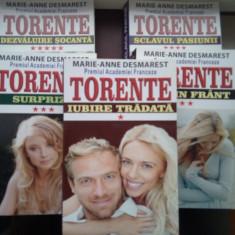 Roman - Torente 5 VOLUME - Marie-Anne Desmarest - EDITIE NOUA ( NR 9999 )