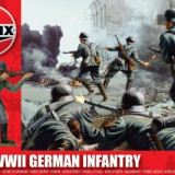 Kit Constructie Si Pictura Soldat German Infanterie