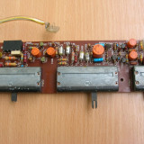 Amplificator audio - Placa preamplificator corector ton SABA