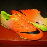 Adidasi barbati Nike, Piele sintetica - Adidasi Nike Mercurial porto/negru Model Fotbal!!
