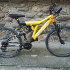 Mountain Bike, 22 inch, 26 inch, Numar viteze: 21 - Bicicleta MTB Mountec 21 viteze