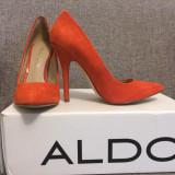 Pantofi dama - Pantofi ALDO piele intoarsa, marimea 36