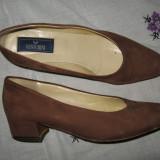 Pantofi dama, Piele intoarsa - PANTOFI piele A. Venturini Mar 40, 5/ 41