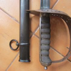 Sabie britanica pt. ofiteri cavalerie model 1897
