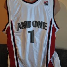 Maieu Basket AND ONE, AND 1. Player 1. Basketball. - Maiou barbati, Marime: L, Culoare: Alb